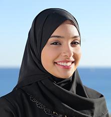 غزل, طالبة في معهد تعليم اللغة الانجليزية عبر الانترنت