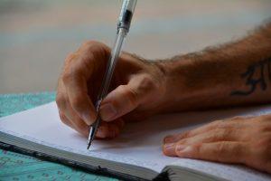 الكتابة باللغة الانجليزية